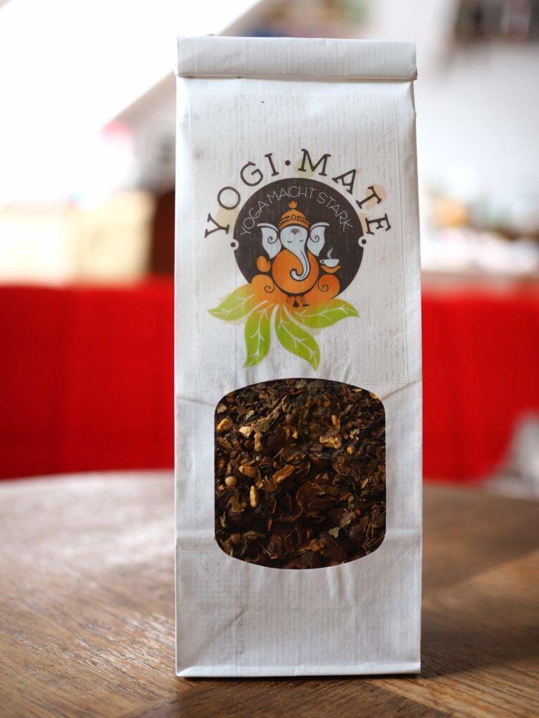 Vorderseite Yogi-Mate Tee aus dem Yemen