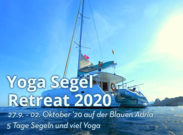 27.9-2.10.20 Yoga Segeln & Retreat Kroatien - Segelreise und Yoga